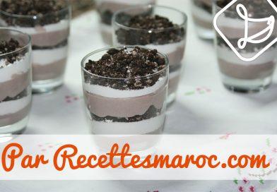 Recette : Parfait aux Biscuits & Crème