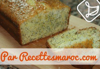 Recette : Cake au Citron & Graines de Pavot