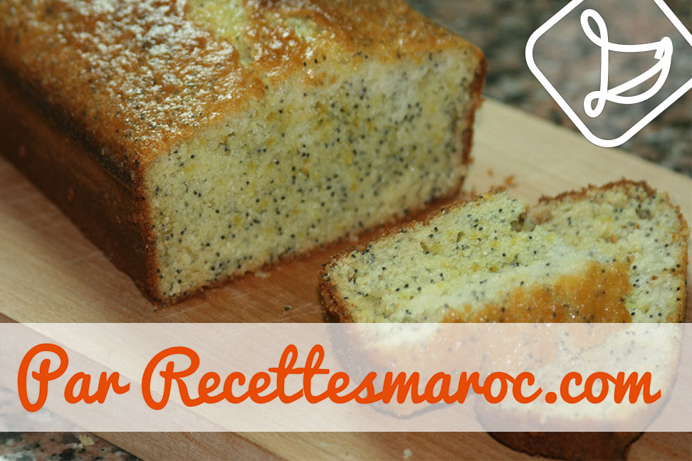 Cake Citron Pavot Au Sirop