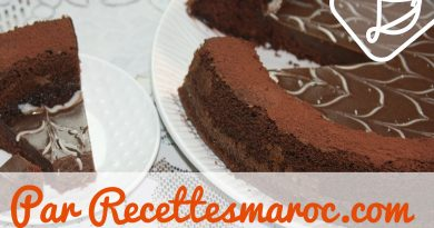 Gâteau au Chocolat Moule Magique