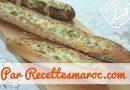 Recette : Pain Baguette Farci à la Dinde & Fromage