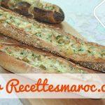 Pain Baguette Farci de Dinde & Fromage