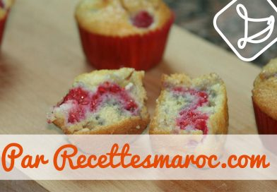 Recette : Muffins Framboises & Choco Blanc