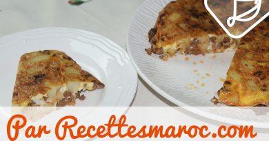 Recette : Omelette au Boeuf & Pommes de Terre (Tortilla)