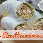 Shawarma au Poulet