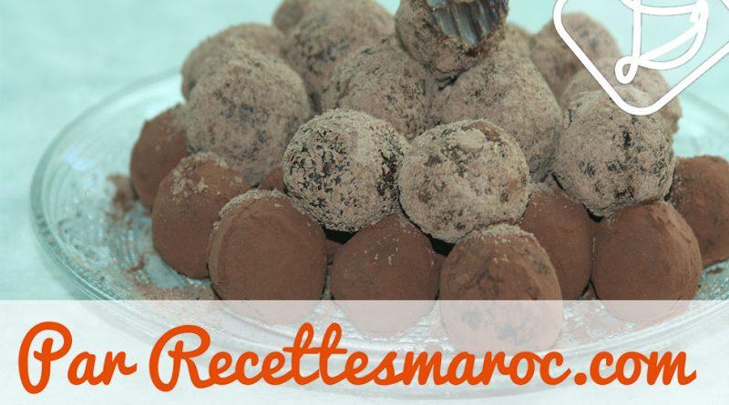 Truffes Choco-Caramel