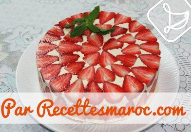 Recette : Gâteau Fraisier