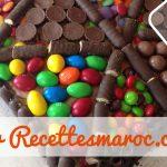 Gâteau Bonbons au Chocolat