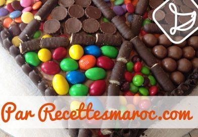 Recette : Gâteau Bonbons au Chocolat