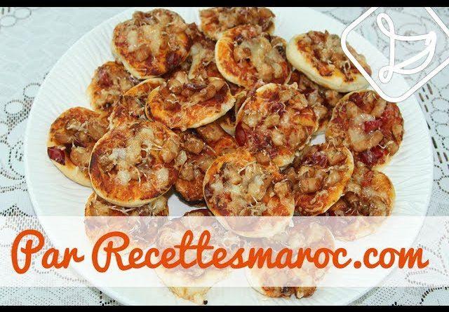 Mini Pizza Poulet