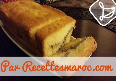Recette : Cake aux Bananes