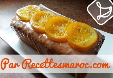 Recette : Cake à l'Orange & Yaourt