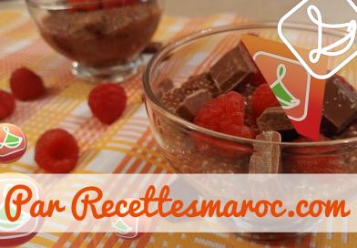 Recette : Pouding Chia-Chocolat