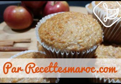Recette : Muffins Pomme – Avoine