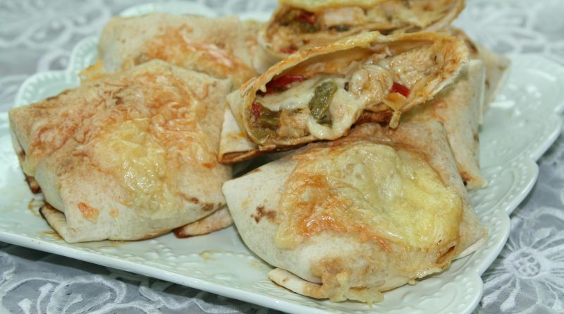 Tortillas Farcies au Poulet & Légumes