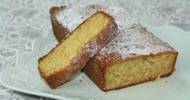 Gâteau Quatre Quart à la Vanille