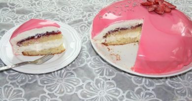Gâteau Miroir à la Mousse au Chocolat