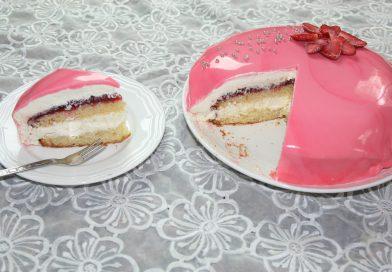Recette : Gâteau Miroir à la Mousse au Chocolat