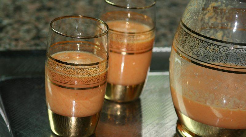 Recette : Smoothie Nectarine/Orange