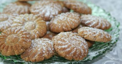 Biscuits au Sésame & Anis