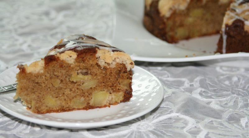 Gâteau Crumble aux Pommes