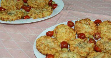 Bouchées Salées aux Pommes de Terre & Dinde