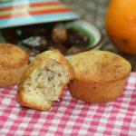 Muffins aux Dattes,Orange & Amandes