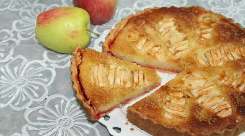 Tarte à la Crème Frangipane & Pommes