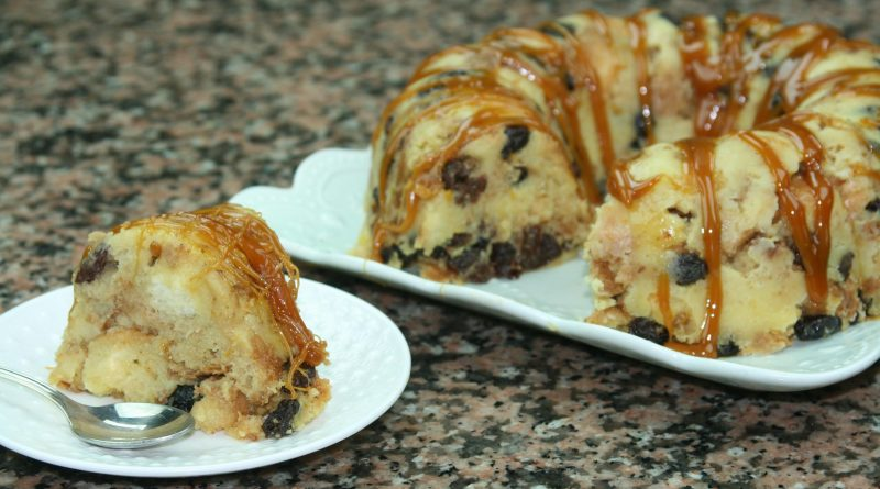 Gâteau Pain Perdu (Diplomate/Pudding au Pain)