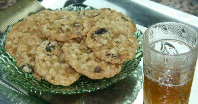 Biscuits Moelleux à l'Avoine & Raisins Secs