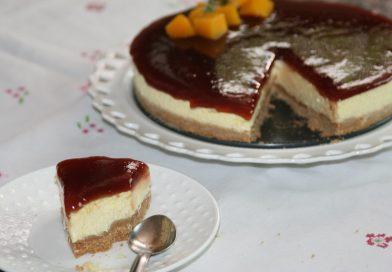 Recette : Gâteau Mousse à la Mangue (Sans Cuisson)