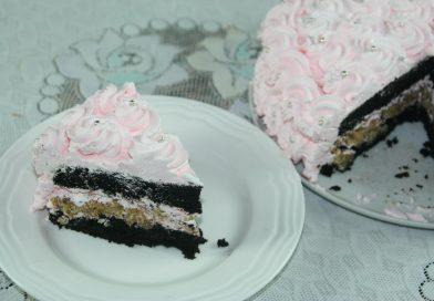 Recette : Gâteau Chocolat & Rosettes à la Crème