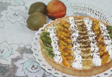 Recette : Tarte à la Crème & Fruits Frais