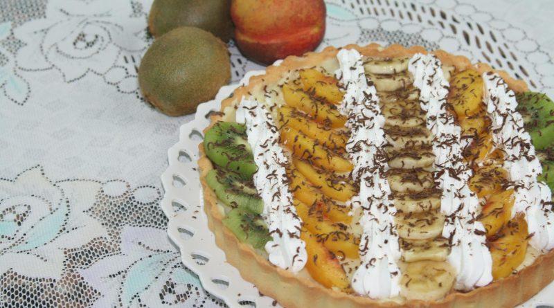 Tarte à la Crème & Fruits Frais