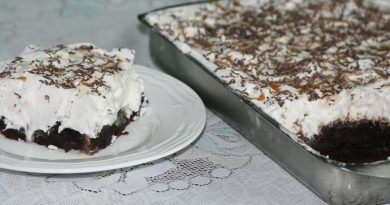 Poke Cake au Chocolat