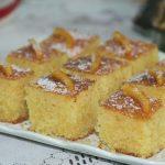 Gâteau Basboussa à l'orange