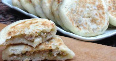 Batbout Farci de Dinde & Légumes