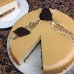 Entremets au Caramel & Crème Bavaroise