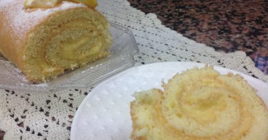 Gâteau Roulé au Citron