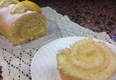 Recette : Gâteau Roulé au Citron