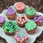 Cupcake Coloré à la Crème