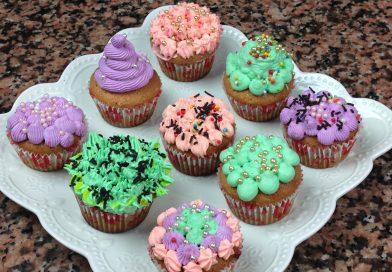 Recette : Cupcakes Décorés à la Crème
