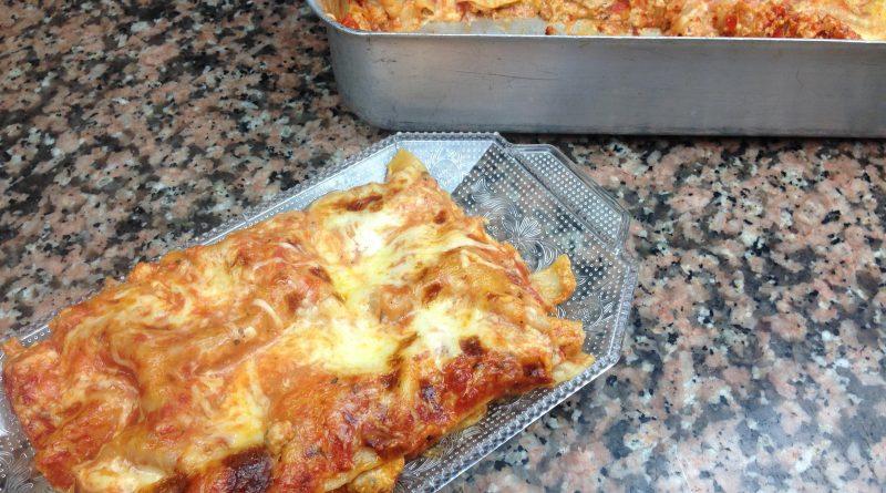 Lasagne à la Dinde Hachée