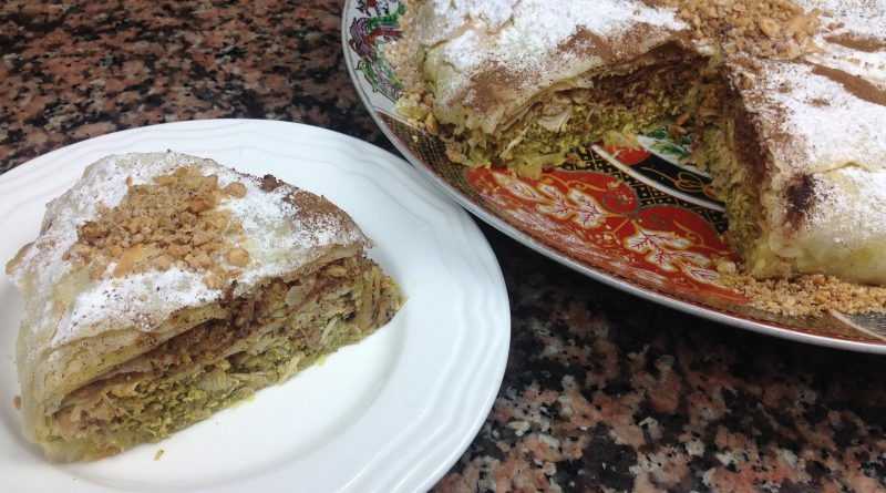 Recette : Pastilla Sucré-Salé au Poulet