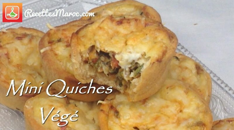 Mini Quiches Végé