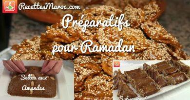Préparatifs pour Ramadan - 3 Recettes de Base