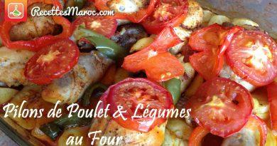 Pilons de Poulet & Légumes au Four