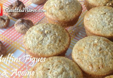 Recette : Muffins Figues & Avoine