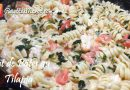 Recette : Plat Familial de Pâtes au Tilapia