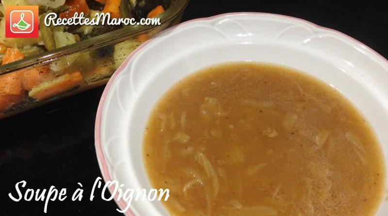 Recette : Soupe aux Oignons